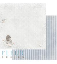 Лист бумаги для скрапбукинга Нежность, коллекция Наш малыш Мальчик, арт. FD1004058