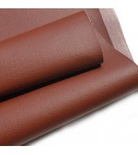 Кожзам на тканевой основе, коричневый, арт. KA410308