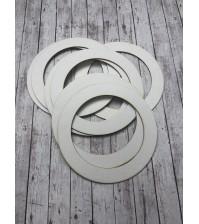Рамочка круглая 14/9,5 см, арт.131008