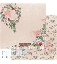 Двусторонний лист бумаги для скрапбукинга В саду, FD1009603