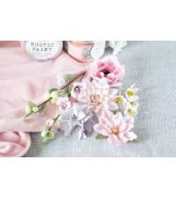 Набор цветов Цветочный блюз розовый, арт. БР0004