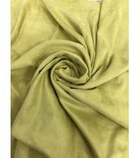 Искусственная замша двусторонняя, цвет спаржа, арт. SC402113