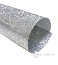 Термотрансферная пленка  искристое серебро, SC101039