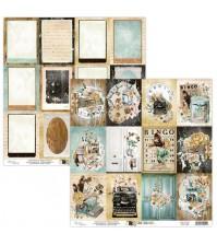 Бумага двусторонняя  для скрапбукинга Life stories by Mintaypapers, арт. MT-LIF-06