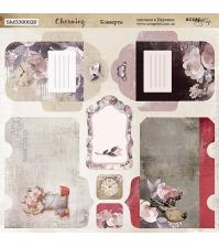 Лист двусторонней бумаги Конверты, коллекция Charming (Очарование), арт. SM3300020