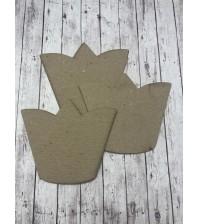 Рамочка корона 10*8,5 см, арт. 131015
