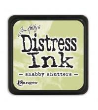 Штемпельная мини-подушечка Tim Holtz Distress Mini Ink Pads на водной основе,  вытертый зеленый, TDP40163