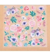 Ацетатный лист Аромат цветов, арт. 3727225