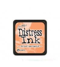 Штемпельная мини-подушечка Tim Holtz Distress Mini Ink Pads на водной основе, цвет Dried Marigold,  арт. 320752