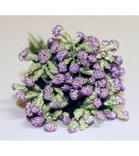 Декоративный букетик Фиолетовый, арт. DKB009C