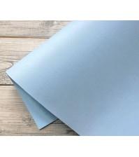 Кожзам с тиснением на тканевой основе, голубой, KA400607