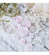 Набор цветов  Рastel flowers, DIAMOND розовый, арт. СР0003