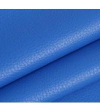 Кожзам на тканевой основе, синий, арт. KA410303