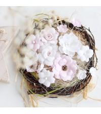 Набор цветов  Рastel flowers, цвет нежно-розовый,арт. МР0002