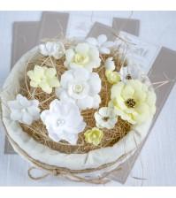 Набор цветов  Рastel flowers, цвет желтый,арт. МЖ0002