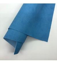 Кожзам с тиснением под питона, цвет голубой, арт. 411143