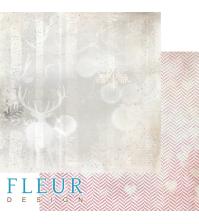 Лист бумаги для скрапбукинга Лесной олень, коллекция Волшебный лес, FD1005907