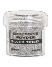 Пудра для эмбоcсинга Ranger, Silver Tinsel, Серебряная мишура, EPJ60437
