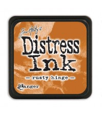 Штемпельная мини-подушечка Tim Holtz Distress Mini Ink Pads на водной основе, цвет ржавая петля, арт. RI40125