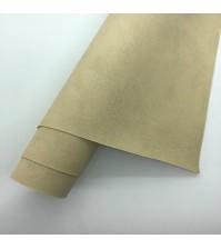 Кожзам с тиснением Мантуя (мятая кожа), цвет капучино, арт. 411161