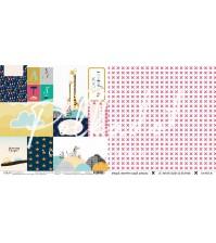 Двусторонний лист Карточки, коллекция В детском мире, chw100-09