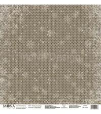 Лист односторонней бумаги Теплый свитер, коллекция Теплая зима,  MD42283
