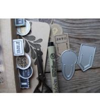 Набор штампов и ножей для вырубки Дело№,  MMC-SD0003