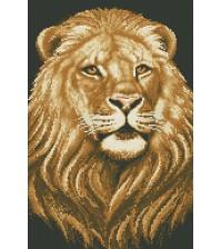 Алмазная мозаика Царь зверей (30х45см), арт. М-349