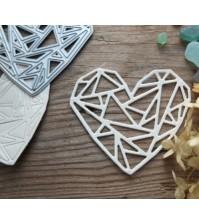 Нож для вырубки Геометрия любви, арт. MMC-M0005