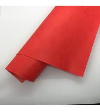 Кожзам (экокожа) на полиуретановой основе, цвет коралл,  арт.411166