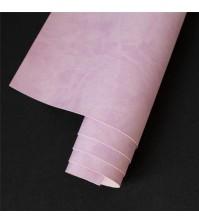 Кожзам (экокожа) на полиуретановой основе матовый, цвет сиренево-розовый, арт. 411748