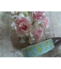 Клейкая лента декоративная Цветочный узор, арт. 12607179
