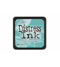 Штемпельная мини-подушечка Tim Holtz Distress Mini Ink Pads на водной основе, цвет Evergreen Bough,  арт. 320858