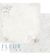 Лист бумаги для скрапбукинга Малыш, коллекция Наш малыш Девочка, арт. FD1004051