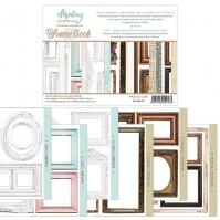 Набор бумаги для скрапбукинга Frame Book by Mintaypapers, арт. MT-FRA01
