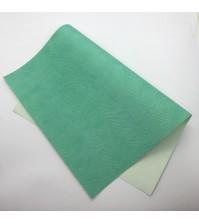 Кожзам с тиснением под питона, цвет мятный, арт. 411140