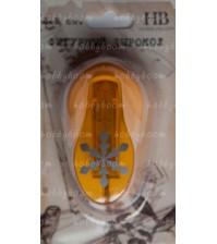 Дырокол фигурный HB 2,5 см №203 - снежинка, арт. CD-99M-203