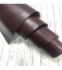 Кожзам (экокожа) на полиуретановой основе, цвет арабика,  арт. SC410114