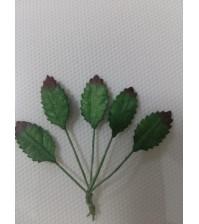 Листья розы маленькие, темно-зеленые, арт. 3041142