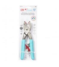 Универсальные щипцы для установки фурнитуры и пробивания отверстий для кнопок, люверсов, джинсовых пуговиц и заклепок, арт. PRYM 390901